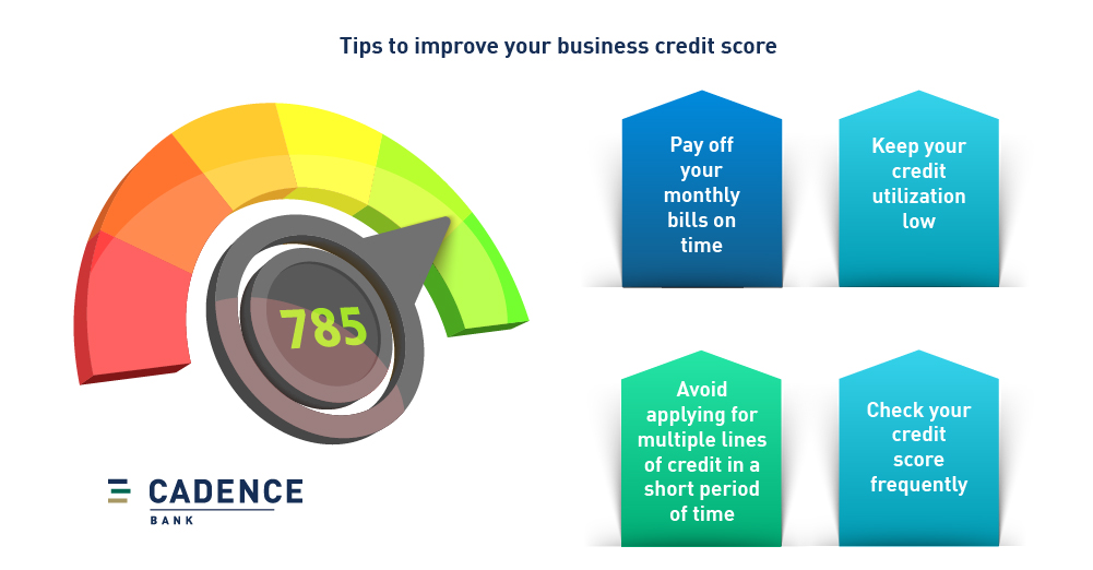 Tips to improve your business credit score