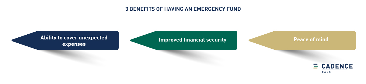 3 benefits of having an emergency fund