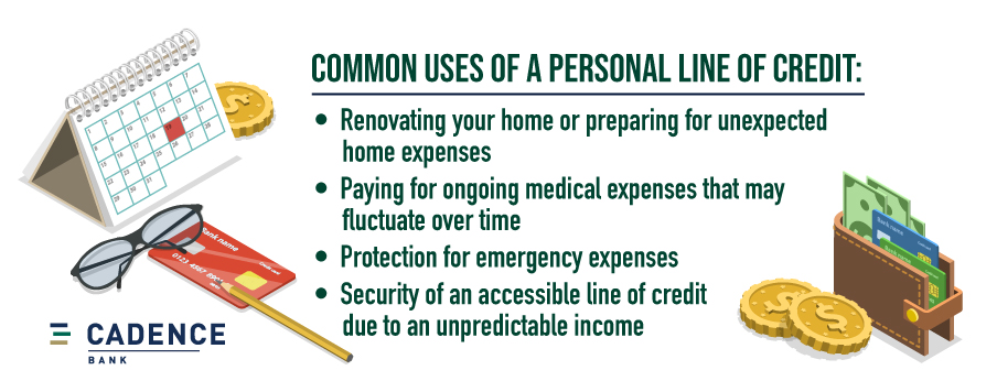 Common uses of a personal line of credit