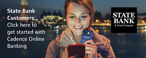 click here to get started with cadence online banking
